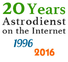 20 years of Astrodienst on the Internet