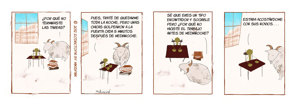 Comic de mikispink