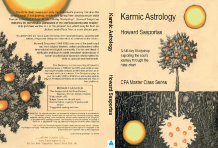 Howard Sasportas, Karmic Astrology