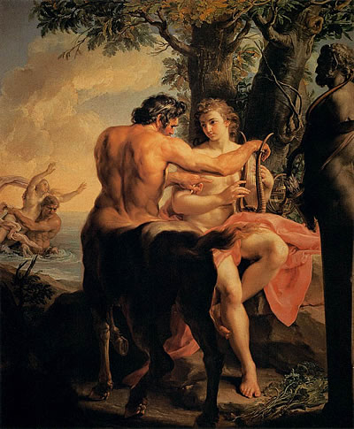 Pompeo Batoni - Achilles and the Centaur Chiron, Wikipedia