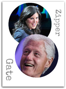 Bill Clinton und Monika Lewinsky