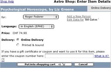 Coupons astro.com