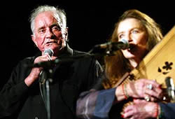 Johnny Cash and June Parker