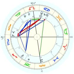 Michel Field - natal chart (Placidus)