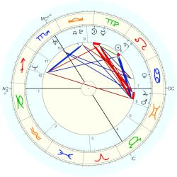 William Gallas - natal chart (Placidus)
