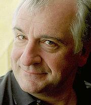 Douglas Adams photo: * Douglas_adams_portrait.jpg: michael hughes from berlin, ge, license cc-by-sa-2.0 - 180px-Douglas_adams_portrait_cropped