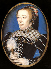 Portrait of Queen Catherine de Medici (click to view image source)