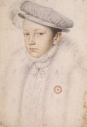 Portrait of King of France Francis II (click to view image source)