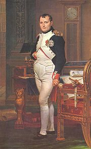 Portrait of Napoleon I Bonaparte (click to view image source)