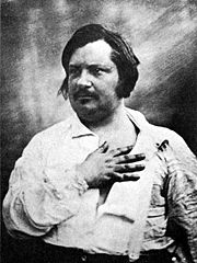 Portrait of Honoré de Balzac (click to view image source)