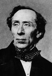Portrait of Hans Christian Andersen (click to view image source)