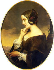 Portrait of Marie d'Agoult (click to view image source)