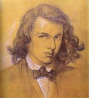 Portrait of D. G. Rossetti (click to view image source)