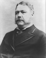 Portrait of Chester A. Arthur (click to view image source)