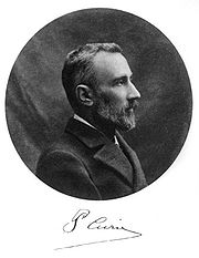 Portrait of Pierre Curie (click to view image source)