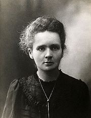 Portrait of Marie Curie (click to view image source)