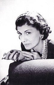 Portrait of Coco Chanel (click to view image source)