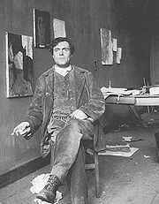 Portrait of Amedeo Modigliani (click to view image source)