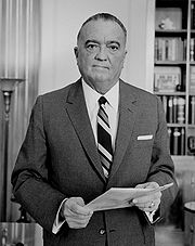 Portrait of J. Edgar Hoover (click to view image source)