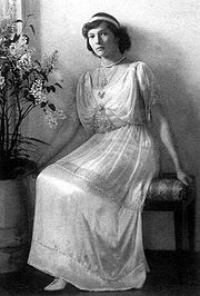 Portrait of Grand Duchess Tatiana (click to view image source)