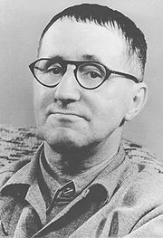 Portrait of Bertold Brecht (click to view image source)