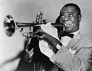 Portrait of Louis Armstrong (click to view image source)
