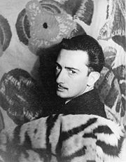 Portrait of Salvador Dali (click to view image source)