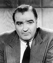 Portrait of Joseph McCarthy (click to view image source)