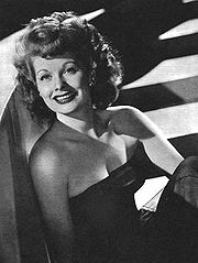 Portrait of Lucille Ball (click to view image source)