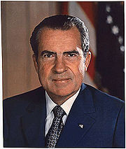 Portrait of Richard Nixon (click to view image source)