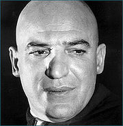 Portrait of Telly Savalas (click to view image source)