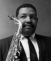 Portrait of Cannonball Adderley (click to view image source)
