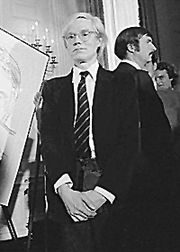 Portrait of Andy Warhol  (click to view image source)