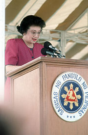 Portrait of Corazon Aquino (click to view image source)