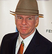 Portrait of Steve Martin (click to view image source)