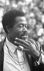 Portrait of Eldridge Cleaver (click to view image source)