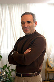 Portrait of Garry Kasparov (click to view image source)