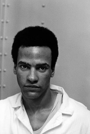 Portrait of Huey Newton (click to view image source)