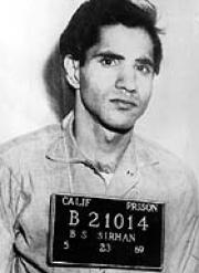 Portrait of Sirhan Sirhan (click to view image source)