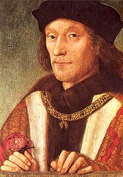 Portrait of King of England Henry VII (click to view image source)