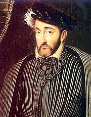 Portrait of King of France Henri II (click to view image source)
