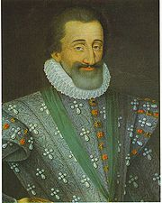 Portrait of King of France Henri IV (click to view image source)