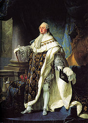 Portrait of King of France Louis XVI (click to view image source)