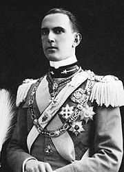 Portrait of King of Italy Umberto II  (click to view image source)