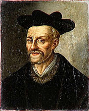 Portrait of Francois Rabelais (click to view image source)
