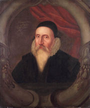 Portrait of John Dee (click to view image source)