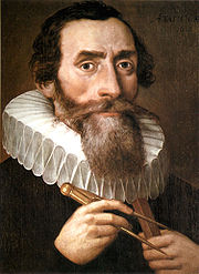 Portrait of Johannes Kepler (click to view image source)
