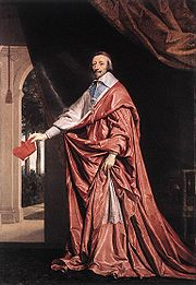 Portrait of Cardinal Richelieu (click to view image source)