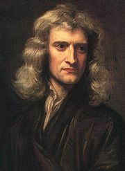 Portrait of Isaac Newton (click to view image source)