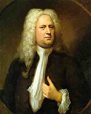 Portrait of George Friedrich Handel (click to view image source)